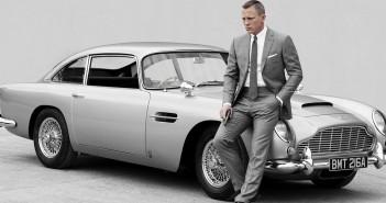 Austin Martin de James Bond