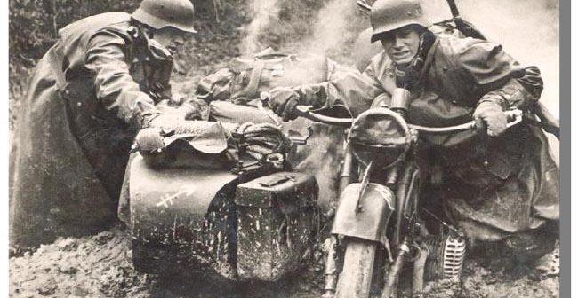 La 2e guerre mondiale et la moto
