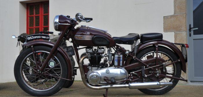 Ces motos anciennes qui devraient constituer une collection
